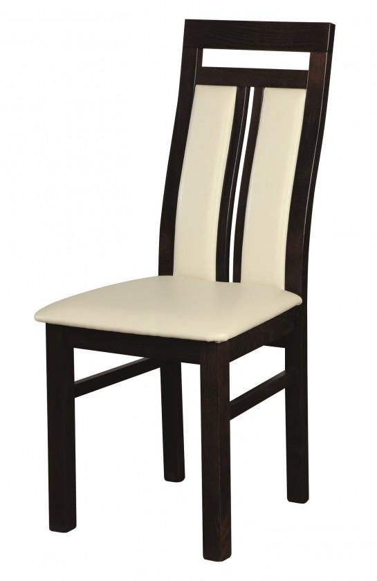 Stolička Verona - Jedálenská stolička (wenge/madryt 120)