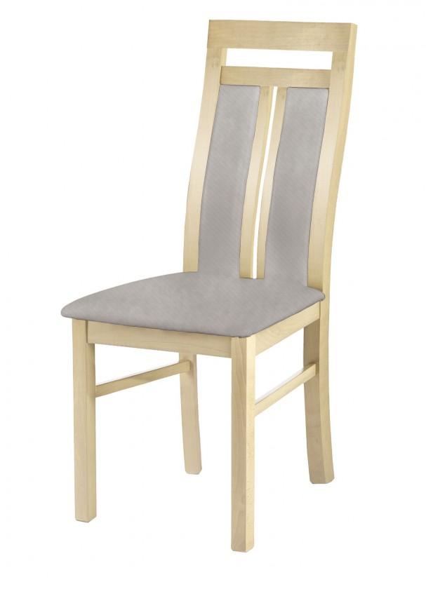 Stolička Werona - jedálenská stolička (drevo - dub sonoma/poťah - látka)