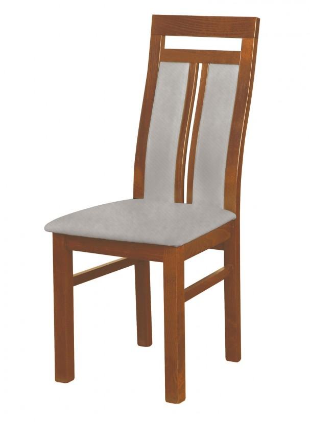 Stolička Werona - jedálenská stolička (drevo - svetlý orech/poťah - látka)