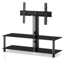 """Stolík pre TV Neo 130, max. 55""""a 40kg, čierny"""