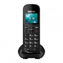 Stolný GSM telefón Maxcom Comfort MM35D, čierna POUŽITÉ, NEOPOTRE