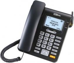 Stolný GSM telefón Maxcom MM28D, čierna POUŽITÉ, NEOPOTREBOVANÝ T