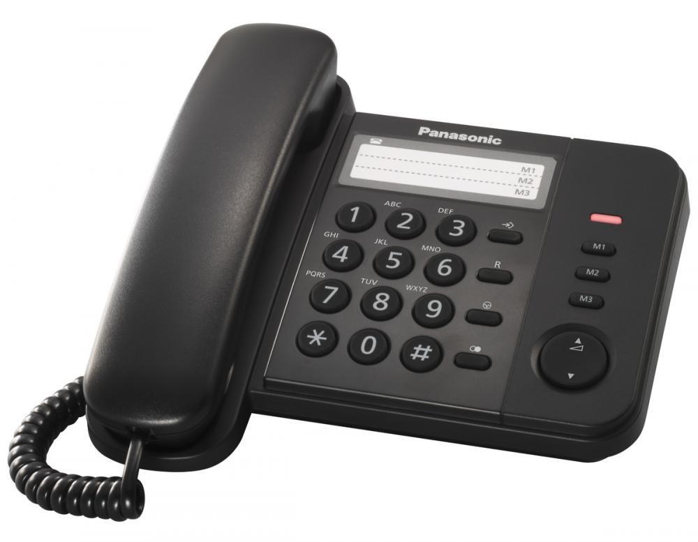Stolný telefón Panasonic KX-TS520FXB