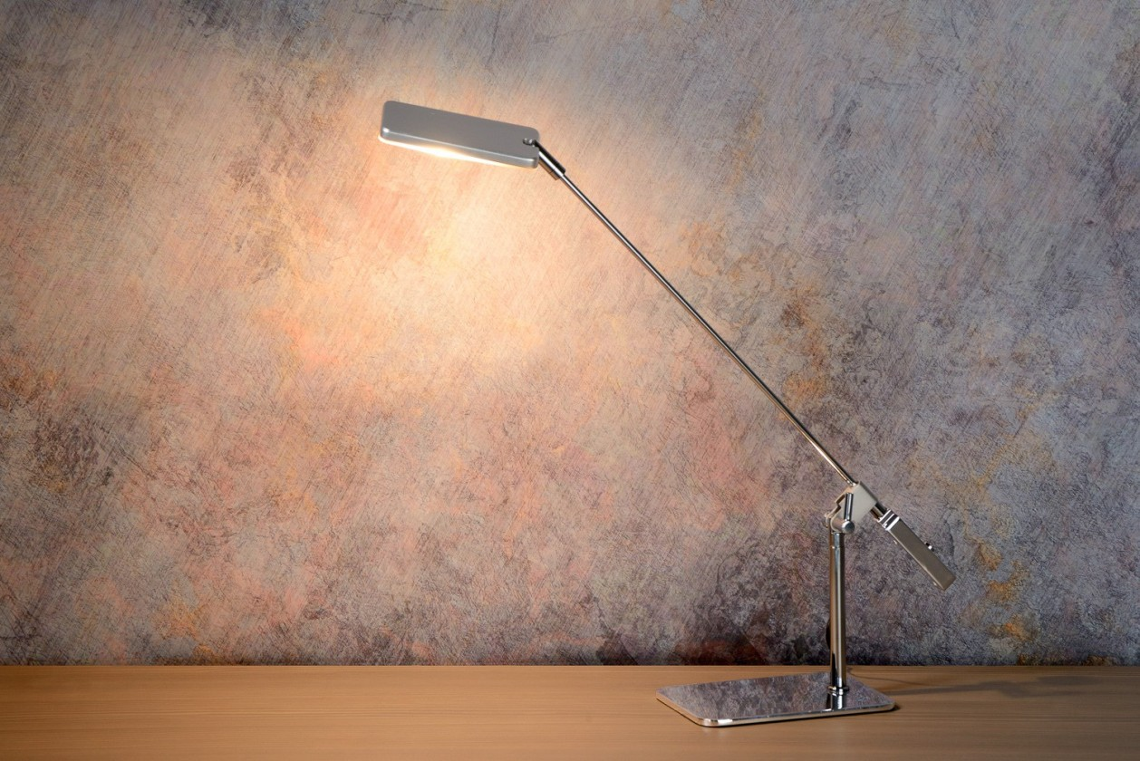 Stratos - lampička, 5W, LED (strieborná)
