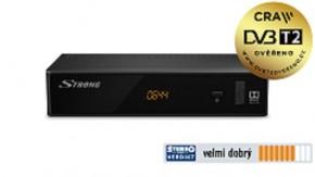 STRONG DVB-T2 prijímač SRT 8211 POUŽITÉ, NEOPOTREBOVANÝ TOVAR