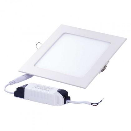 Stropný LED panel S 12W IP20 studená biela