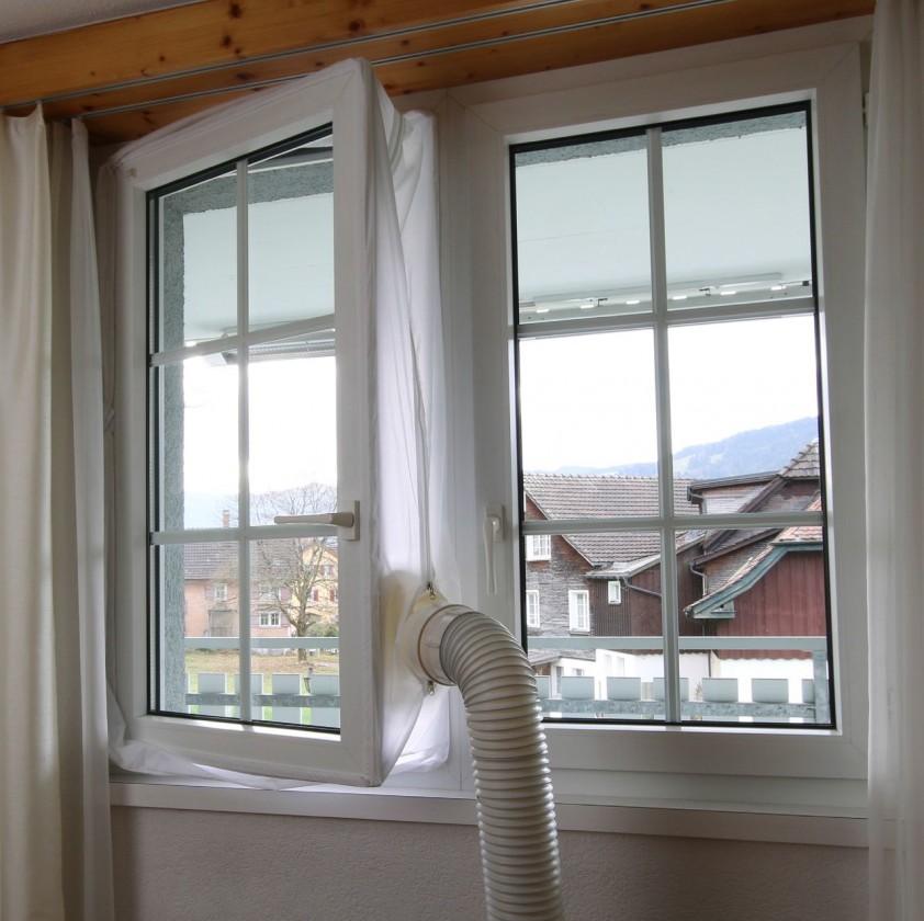 Štruktúrovaná kabeláž Tesnenie okien pre mobilné klimatizácie Guzzanti GZ 901
