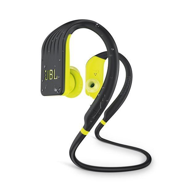 Štupľové Bezdrôtové slúchadlá JBL Endurance Jump, žltá