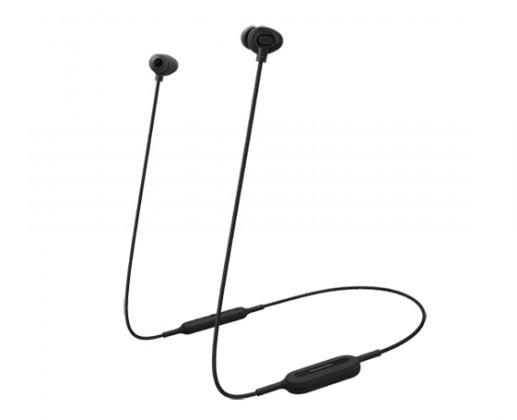Štupľové Bezdrôtové slúchadlá Panasonic RP-NJ310BE-K, čierna