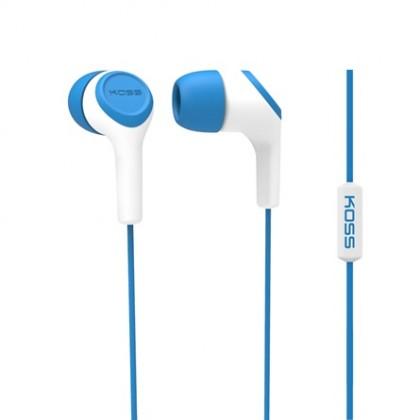 Štupľové Koss KEB15I BLUE (doživotná záruka)