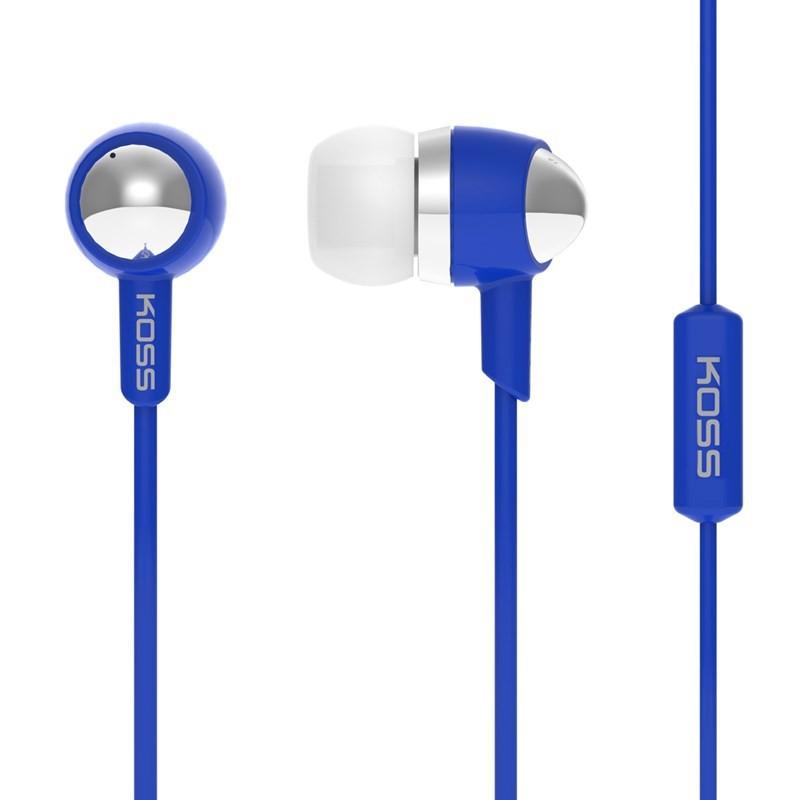 Štupľové Koss KEB30I BLUE (doživotná záruka)
