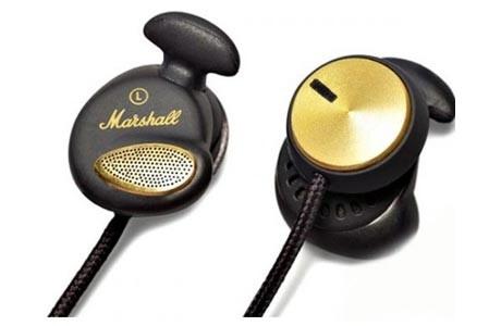 Štupľové MARSHALL Minor Black