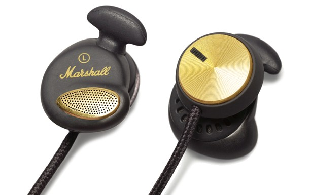 Štupľové Marshall Minor FX Black