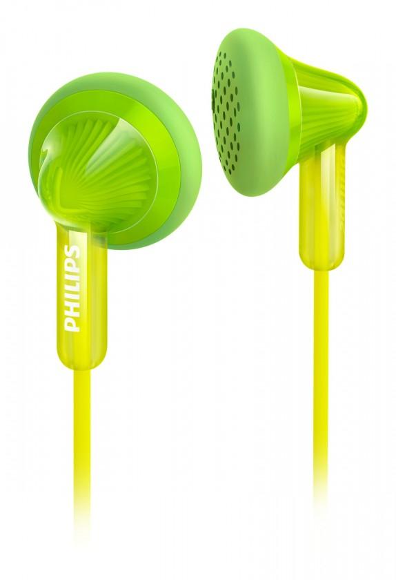 Štupľové Philips SHE3010GN zelené