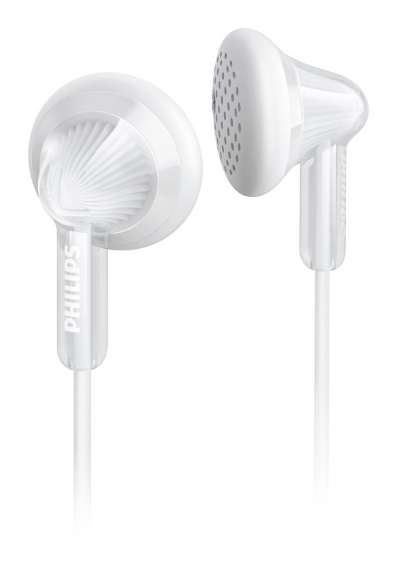 Štupľové Philips SHE3010WT biele