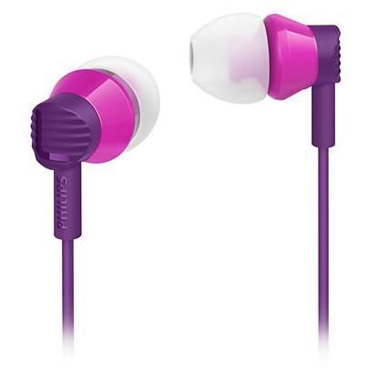 Štupľové Philips SHE3800PP purpurová (SHE3800PP/00)