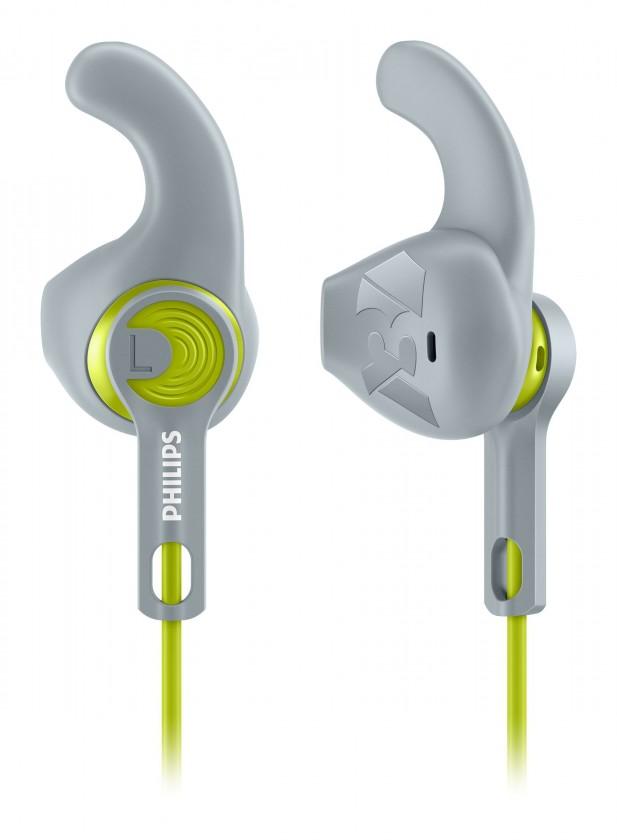 Štupľové Philips SHQ1300LF/00 (šedá-lime)