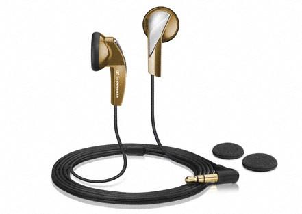 Štupľové  SENNHEISER MX 365 Bronze sluchátka do uší