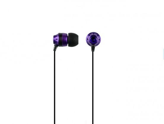 Štupľové  Skullcandy, INK'D SC, purpurová/černá