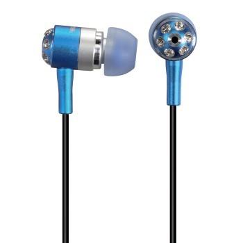 Štupľové Slúchadlá Hama HK-284, 56284 modrá/strieborná