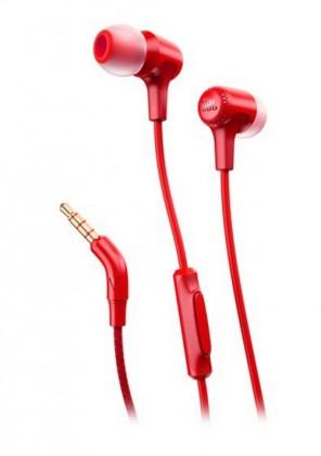 Štupľové Slúchadlá JBL Synchros E15 červená