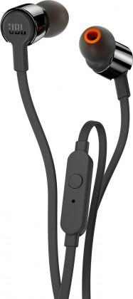 Štupľové Slúchadlá JBL T210 čierna