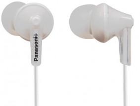 Štupľové slúchadlá Panasonic RP-HJE125E-W
