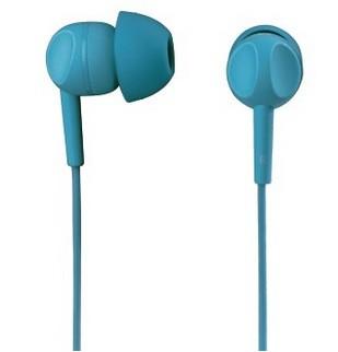 Štupľové Slúchadlá s mikrofónom Thomson EAR3203, tyrkysová