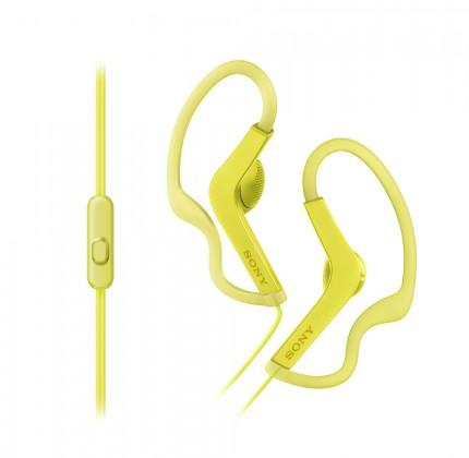 Štupľové Sony MDR-AS210AP (žltá)