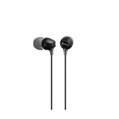 Štupľové Sony MDR-EX15LP, čierna ROZBALENÉ
