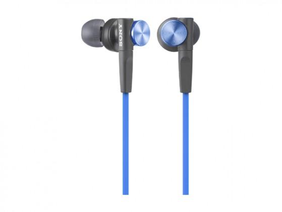 Štupľové Sony MDR-XB50 Blue