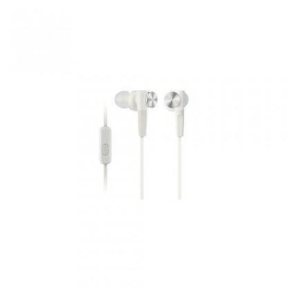 Štupľové Sony MDR-XB50AP White