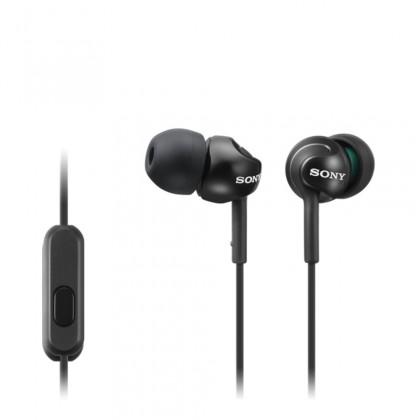 Štupľové Sony Slúchadlá MDR-EX110AP čierna