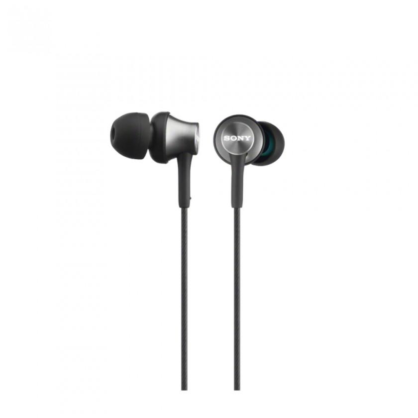 Štupľové Sony Slúchadlá MDR-EX450AP Gray