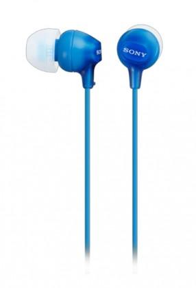 Štupľové SY-Slúchadlá štupľové,modré