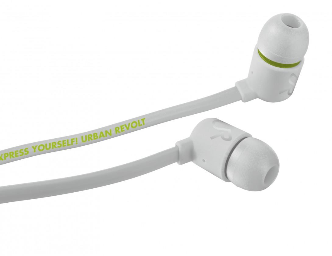 Štupľové URBAN REVOLT Sluchátka Duga In-ear Headphone - white, špuntová