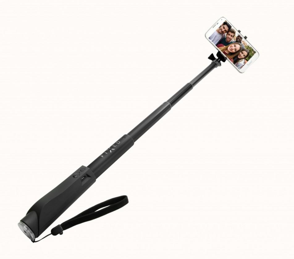 Stylus a selfie tyč Selfie tyč Fixed sa spúšťou, teleskopická, až 97cm, čierna