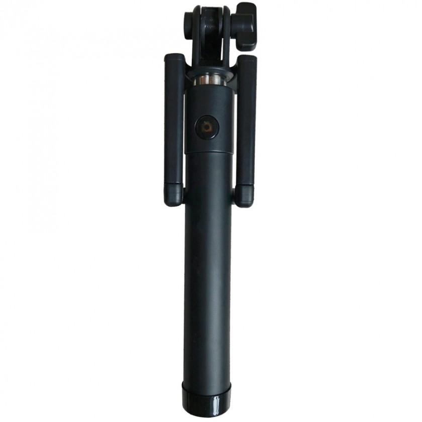 Stylus a selfie tyč Selfie tyč WG až 55cm, kovový, odľahčený, s bluetooth, čierna