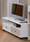 Sunny - TV stolík (dub, alpská biela)