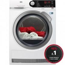 Sušička bielizne AEG AbsoluteCare T8DBE48SC, A++, 8 kg + rok pranie zadarmo