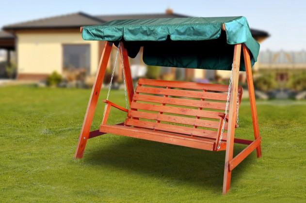 Swing 150 - Hojdacia lavica (mahagón)
