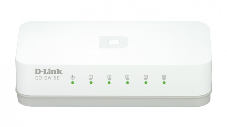 Switch D-Link GO-SW-5E