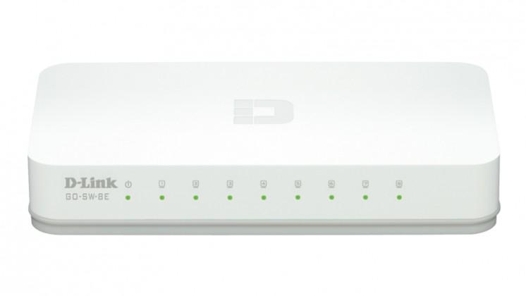 Switch D-Link GO-SW-8E