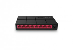 Switch Mercusys MS108G, GLAN, 8-port