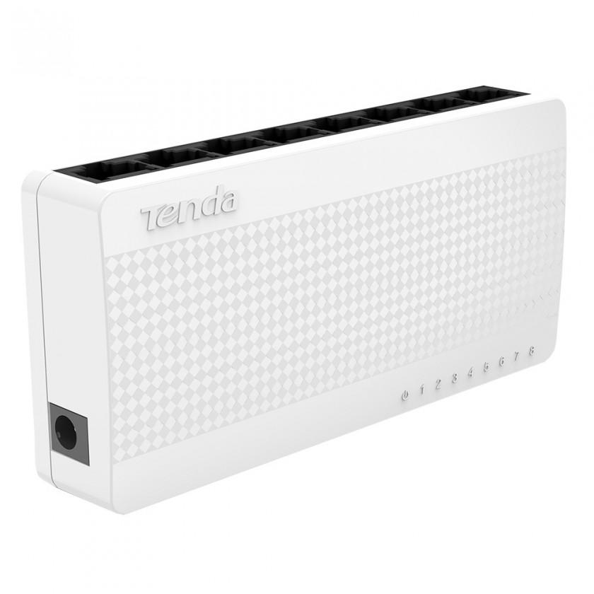 Switch Tenda S108 - 8-port Mini Eco Fast Ethernet Switch