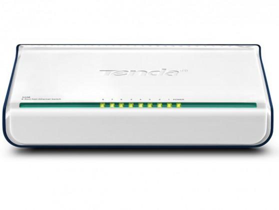 Switch  Tenda S108 8-portový Fast Ethernet Switch