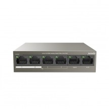 Switch Tenda TEF1106P-4-63W, PoE