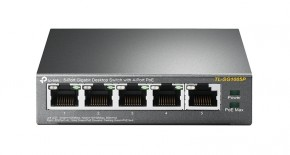 Switch TP-Link TL-SG1005P, GLAN, PoE, 5-port