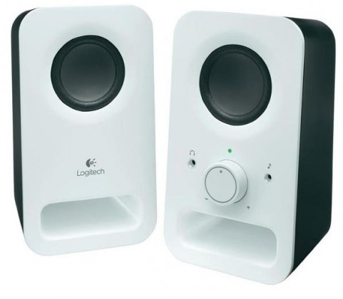 Systém 2.0 Reproduktory Logitech Z150 Multimedia Speakers, 3W, 2.0, biele