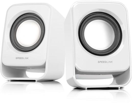 Systém 2.0 Speedlink Snappy white